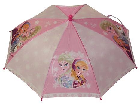 Disney: Niños Paraguas sombrilla Frozen la Frozen con Anna Elsa Olaf
