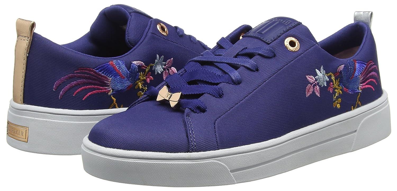 Ted Baker Damen Giellie Sneaker Blau (Navy/Bird (Navy/Bird (Navy/Bird 001) e51867