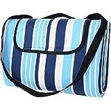 """SONGMICS Outdoor Waterproof Picnic Blanket Beach Blanket 77"""" X 59"""""""