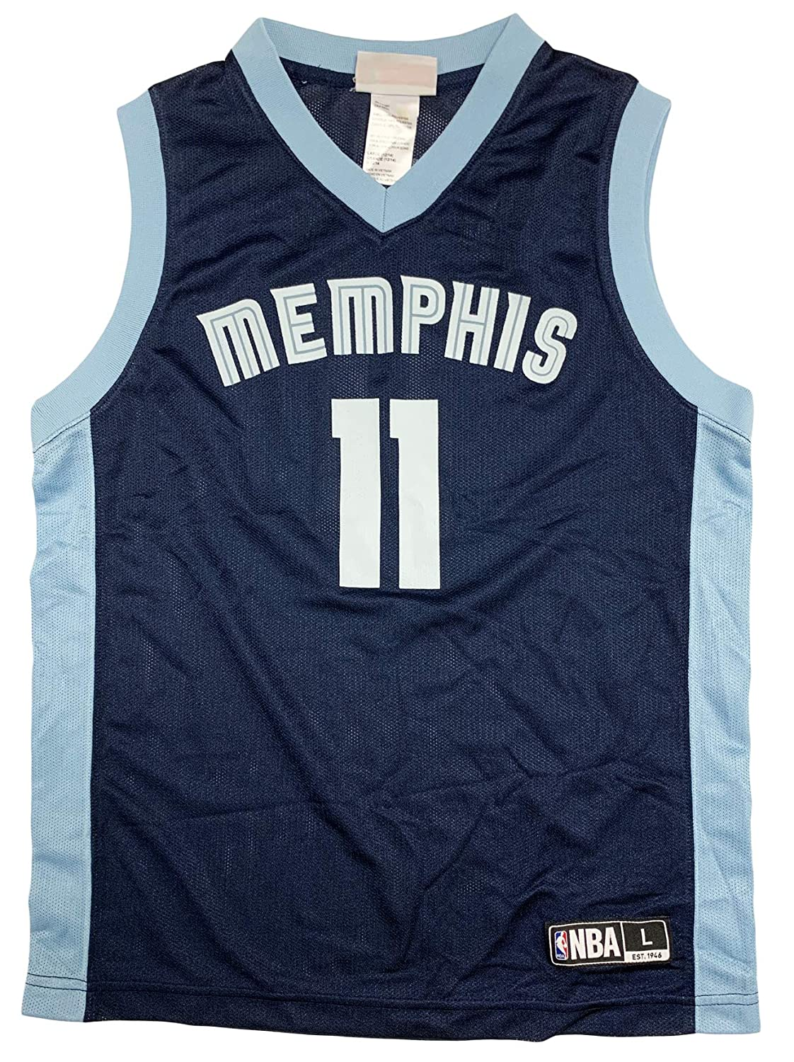 30e409759 Amazon.com  Outerstuff Mike Conley Memphis Grizzlies  11 Navy Blue Infants  Toddler Player Road Jersey  Clothing