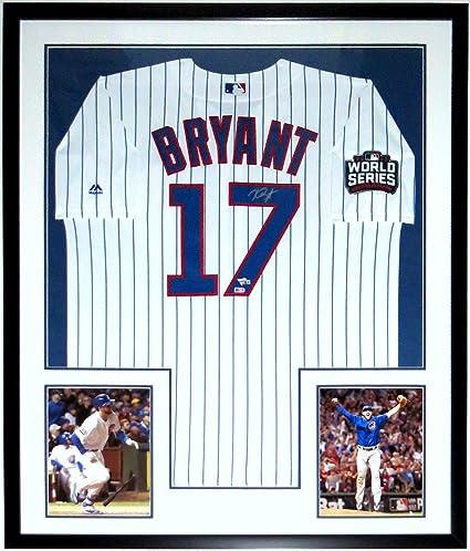 best service 4efc5 0397c Kris Bryant Signed Chicago Cubs 2016 World Series Jersey ...