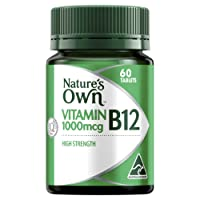 Nature's Own Vitamin B12 1000mcg Tablets 60
