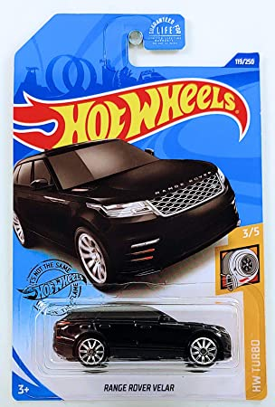 Hot Wheels 2020 Hw Turbo Range Rover Velar Red 119//250