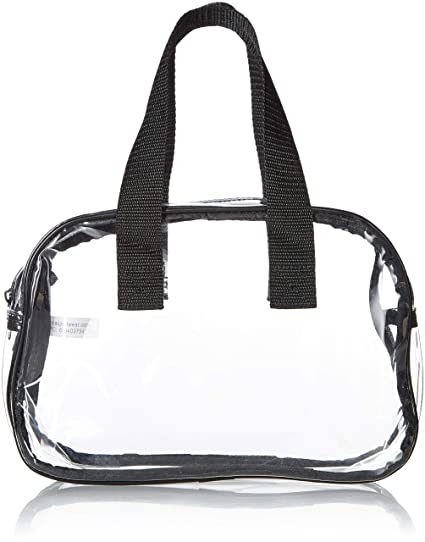 618488e1f52 Clear Purse that is Event Stadium Approved. Clear Handbags for Cosmetics,  Makeup, and