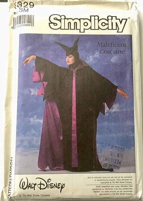 Amazon Com Simplicity 8329 Walt Disney Maleficent Costume