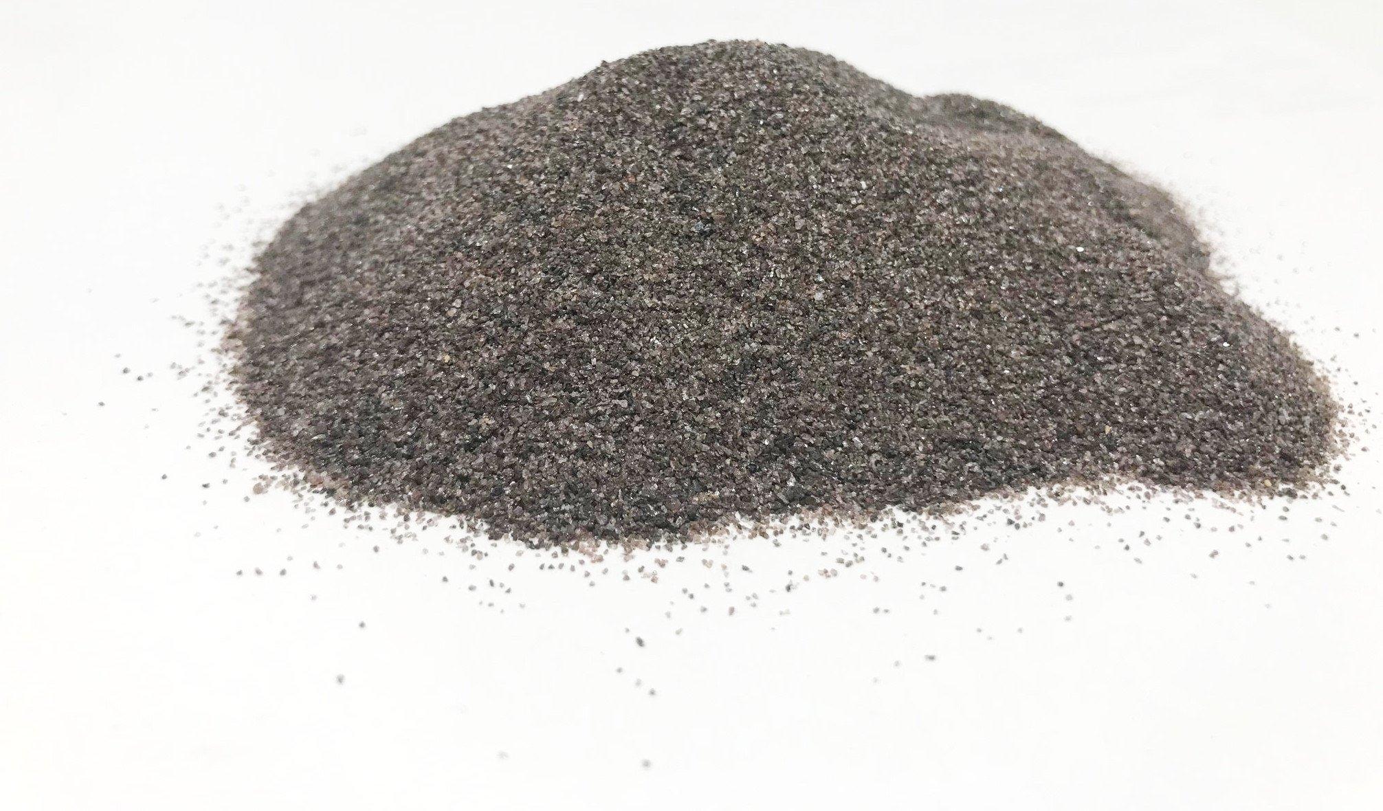 Blastline USA Brown Aluminum Oxide Abrasive Blast Media, 54 Grit - Medium Coarse (5 LBS)