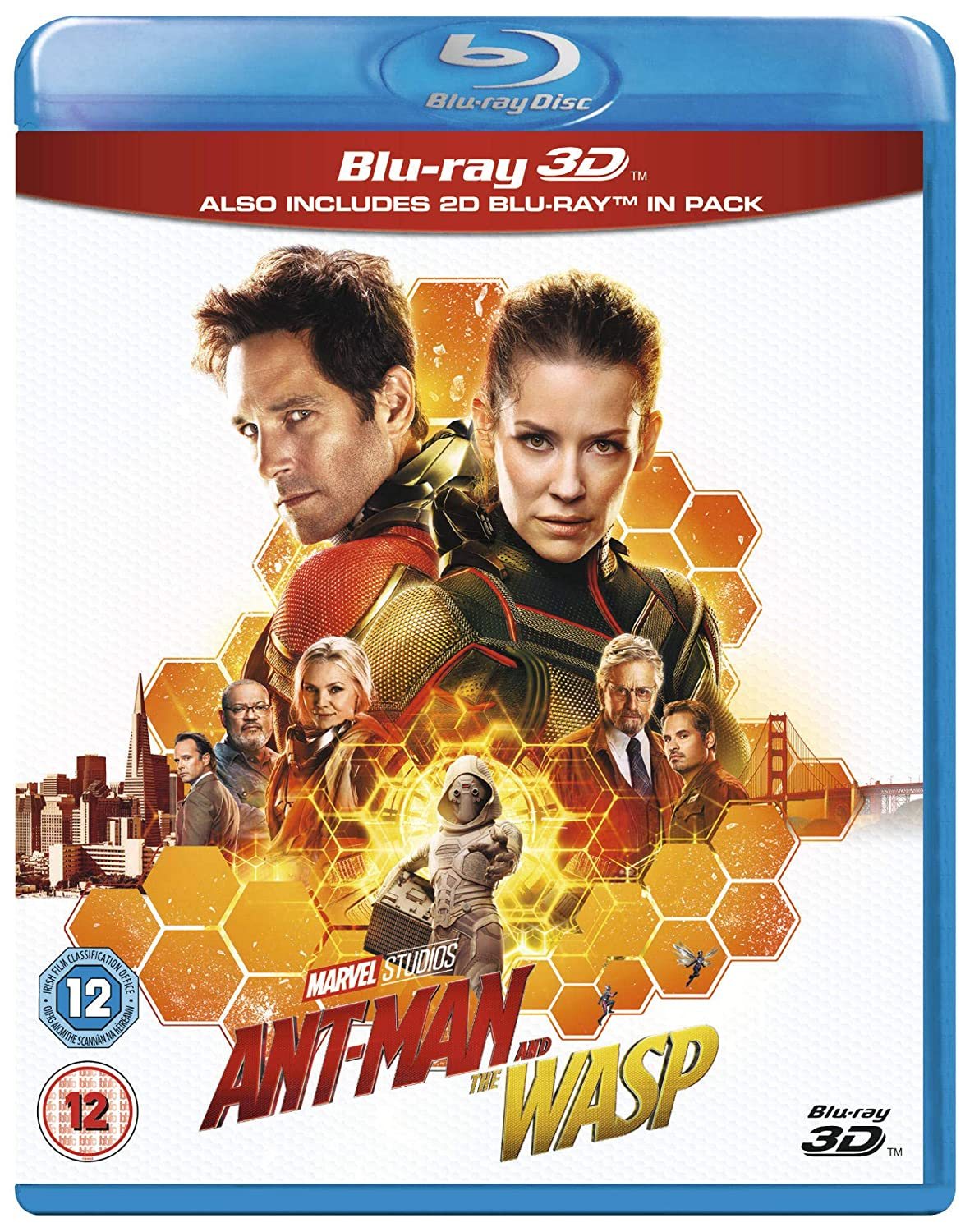 Ant-Man and the Wasp [3D + Blu-ray] [2018]