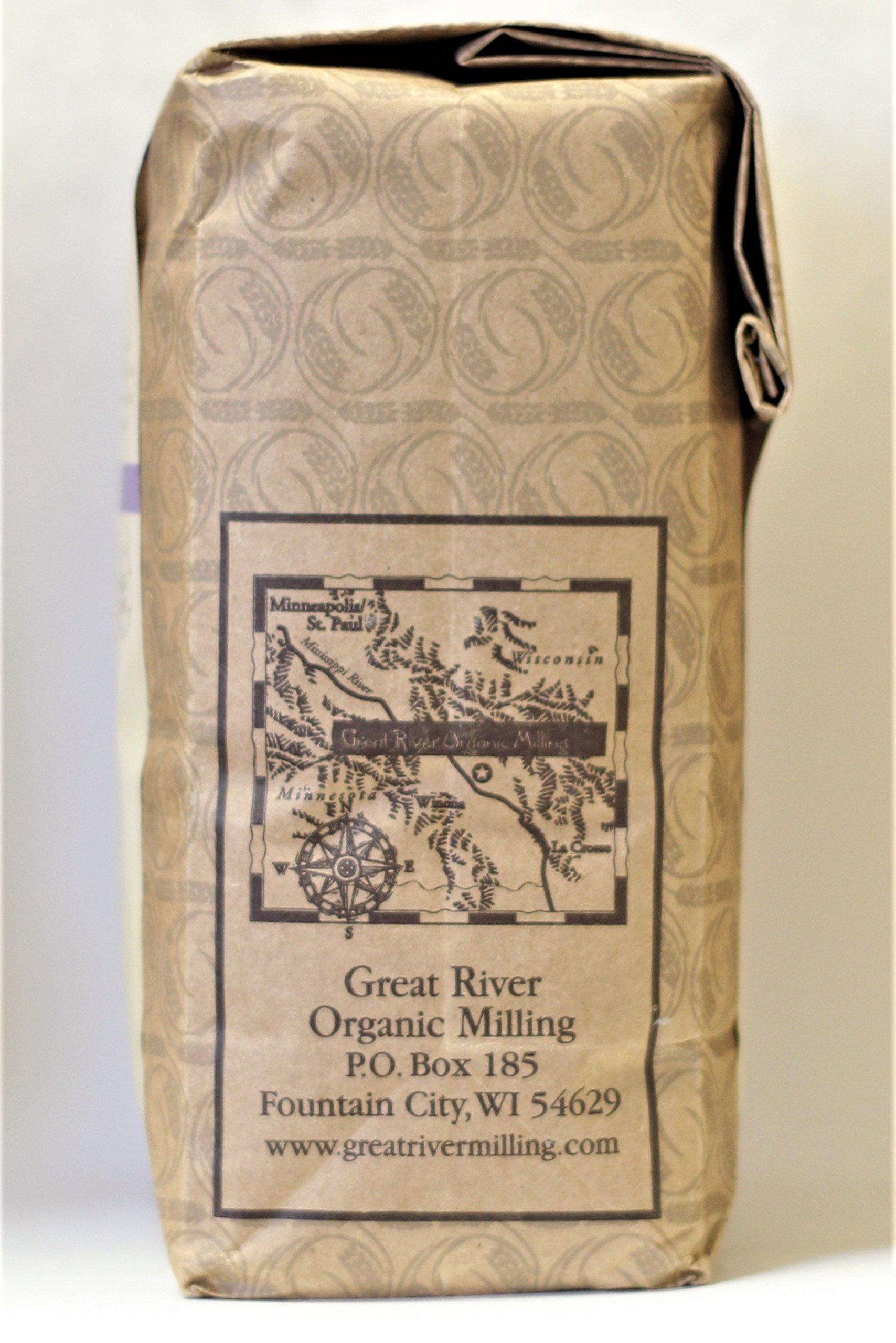 Great River Organic Milling Organic Buckwheat Flour, 2 Pound by Great River Organic Milling (Image #3)