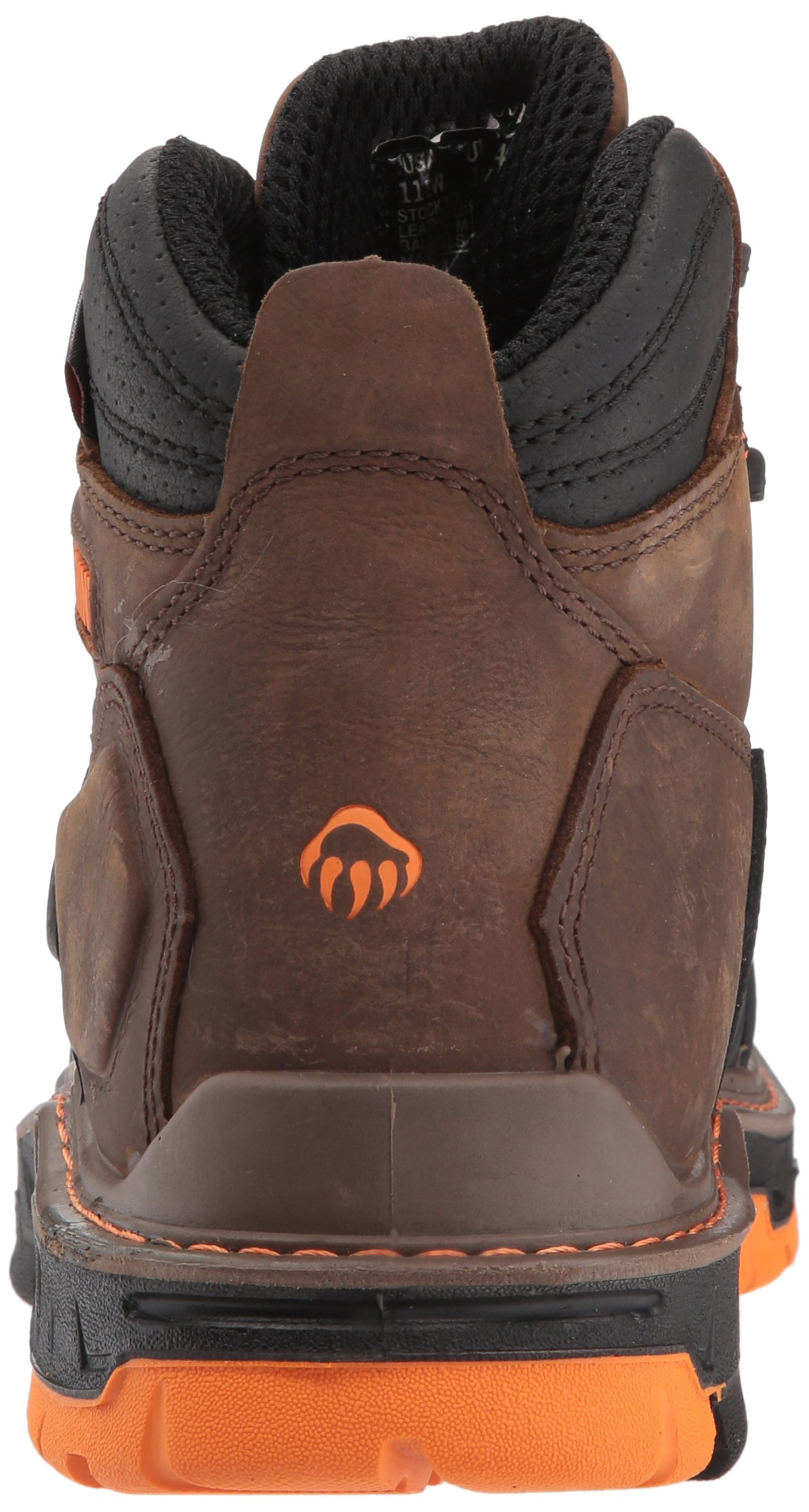 Wolverine Men's Overpass 6'' Composite Toe Waterproof Work Boot, Summer Brown, 10.5 M US by Wolverine (Image #2)