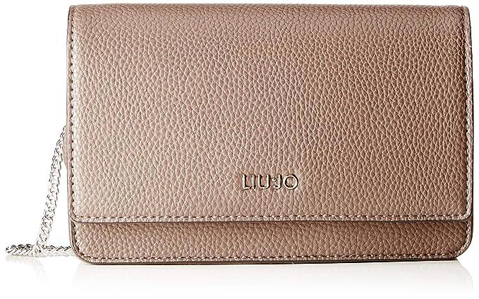 0dcee2214d Liu Jo Isola borsa a tracolla clutch bag - Ginger: Amazon.it ...