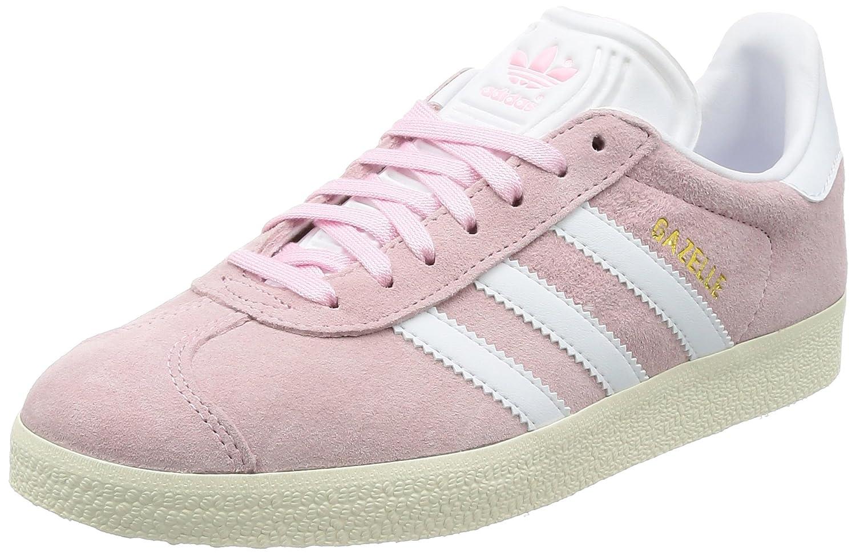 Adidas Gazelle W, Zapatillas de Deporte Mujer 38 2/3 EU|Rosa (Wonder Pink/Footwear White/Gold Metallic)