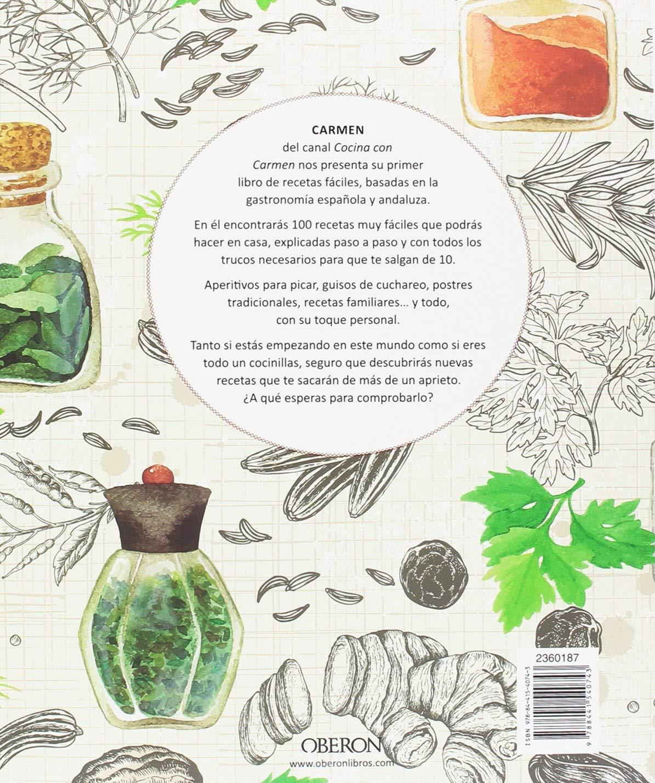 Cocina Con Carmen Sabores De Andalucia Libros Singulares Amazon Es