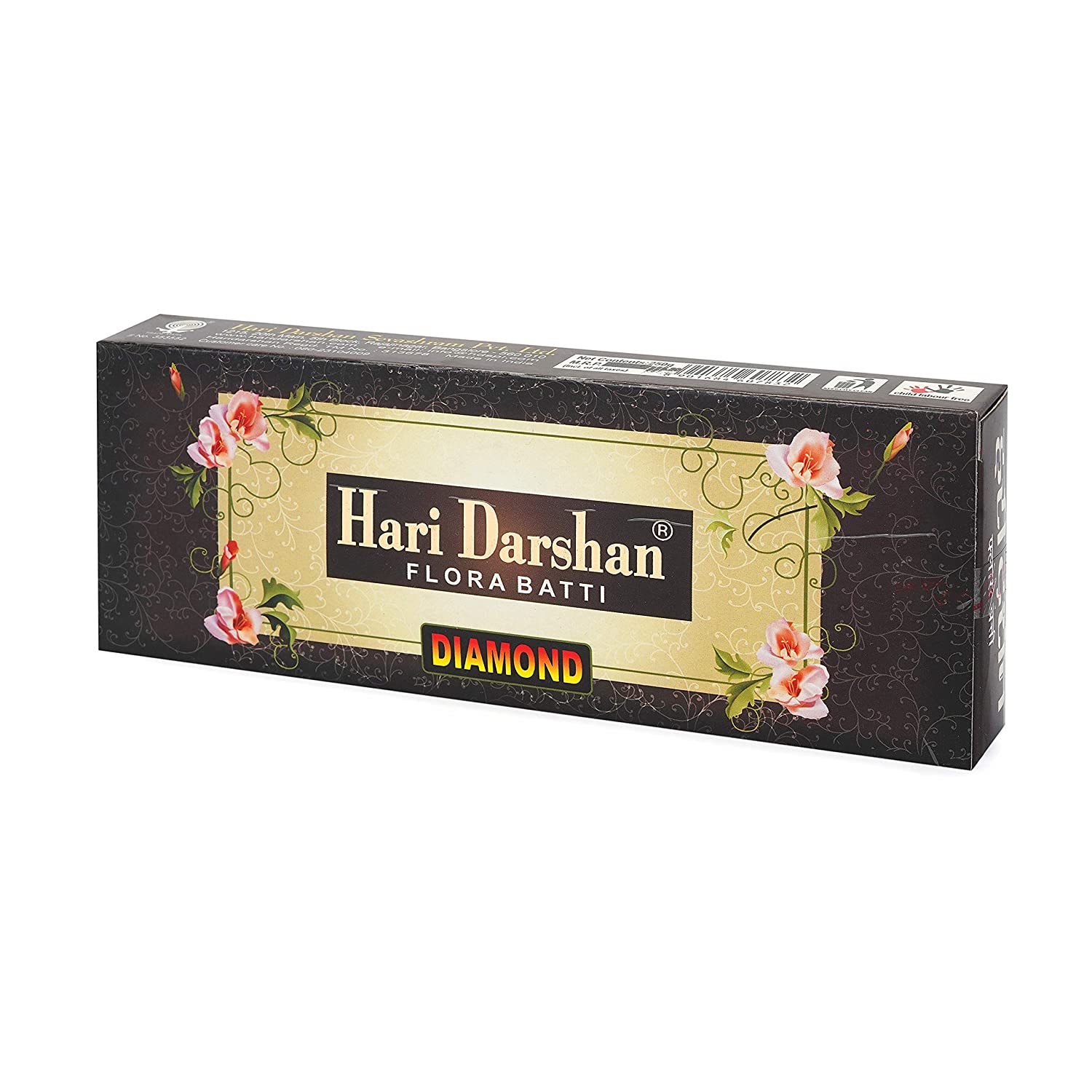 Details about  /3 X Hari Darshan Collections Flora Mix Incense Sticks Pack Of 150 Sticks 250 gm