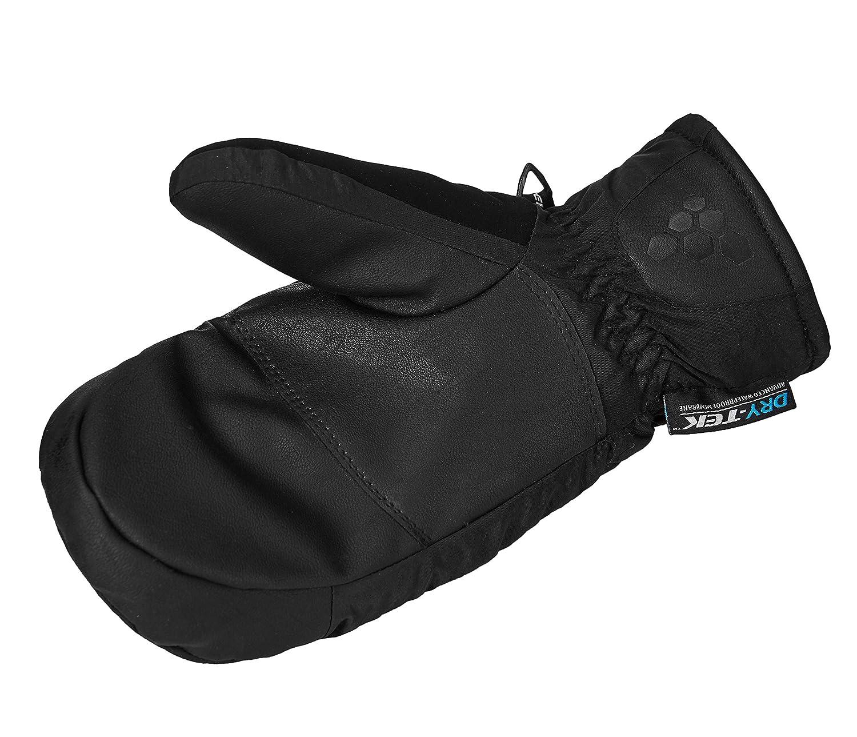 Waterproof /& Windproof Winter Gloves for Women SNOTEK X-Series Womens Ski Gloves ST143X GREY//BLACK, M