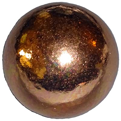 1pc- Pure Copper 30mm Premium Copper Crystal Healing Gemstone Energy Orb Sphere Ball -Mineral of Energy and Mental Agility by Sublime Gifts: Toys & Games