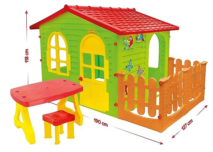 Gartenhaus Mit Sommerküche : Mochtoys neu spielhaus gartenhaus für kinder mit