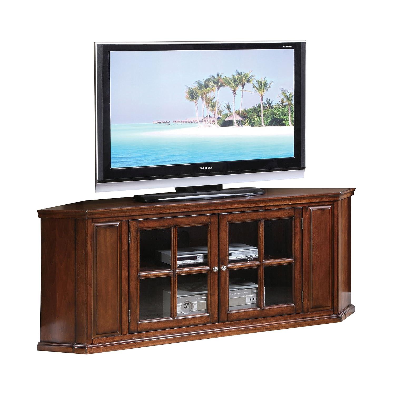 Amazon Acme Malka Oak Corner Tv Stand Kitchen Dining