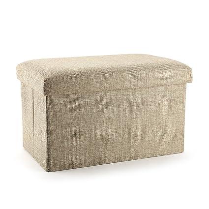 Superieur MEÉLIFE Storage Ottoman, Meeu0027life Folding Foot Rest Stools Seat Table  Ottomans Bench,
