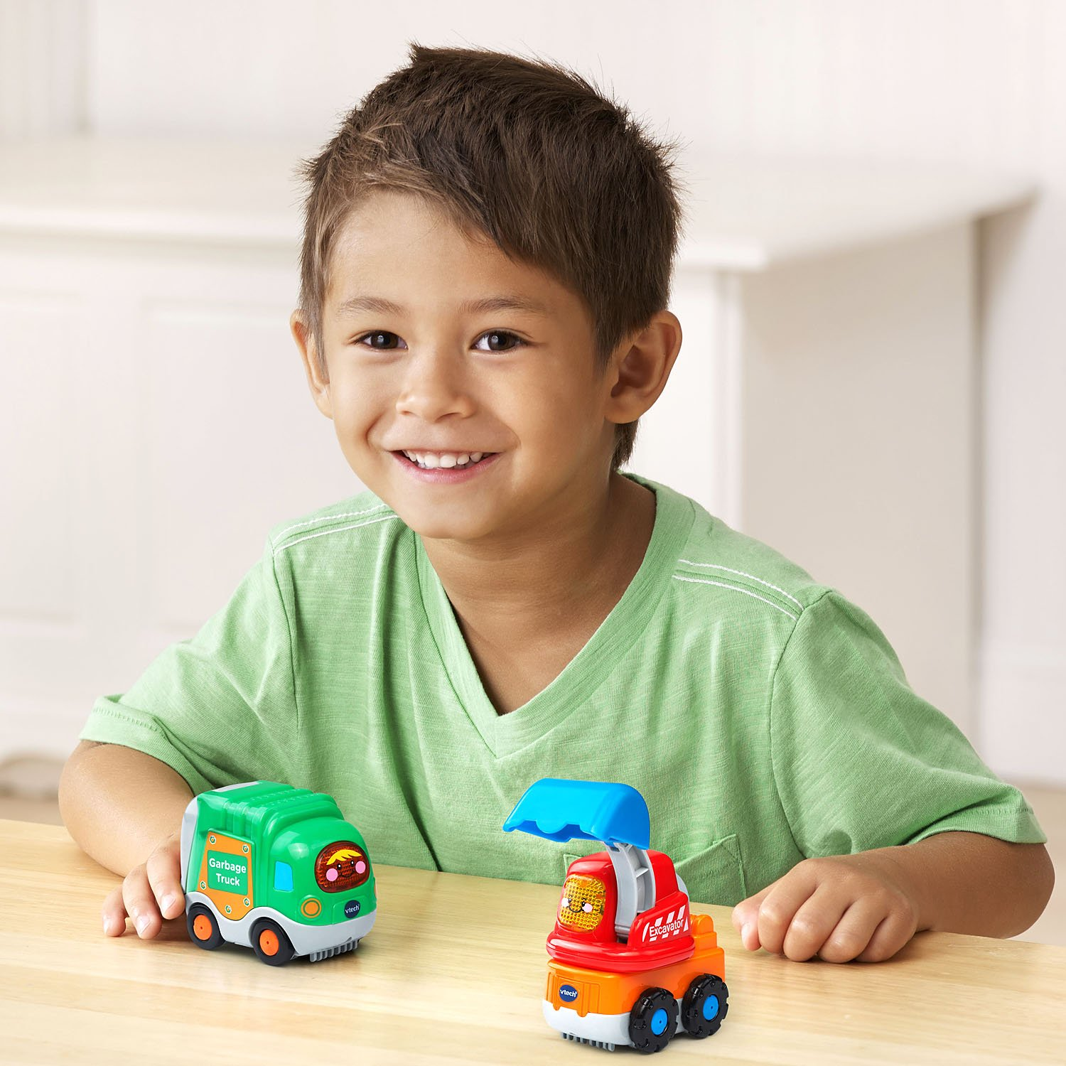 VTech Go! Go! Smart Wheels Garbage Truck and Excavator by VTech (Image #6)