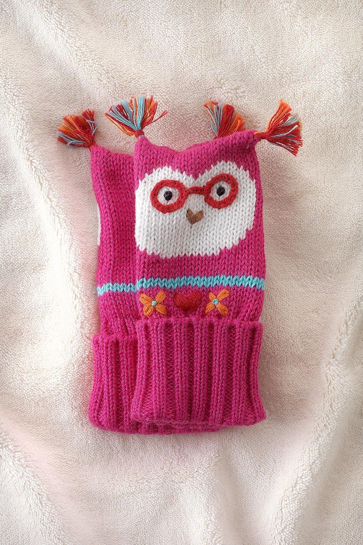 Joobles Organic Baby Mittens Jody the Owl 0-6 Months
