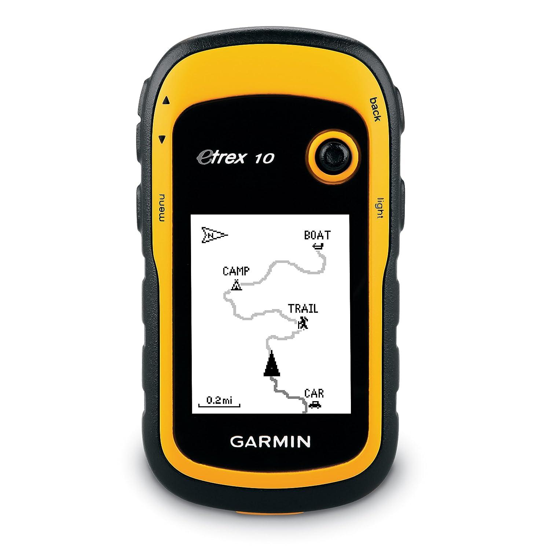 Garmin eTrex 10 Outdoor Handheld GPS Unit, Black/Yellow: Amazon.co.uk:  Electronics