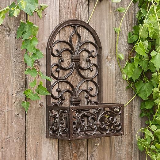 Antikas - jardinera de pared - jardinera flores para su balcón, maceta victoriano - jardineras estilo antiguo: Amazon.es: Jardín