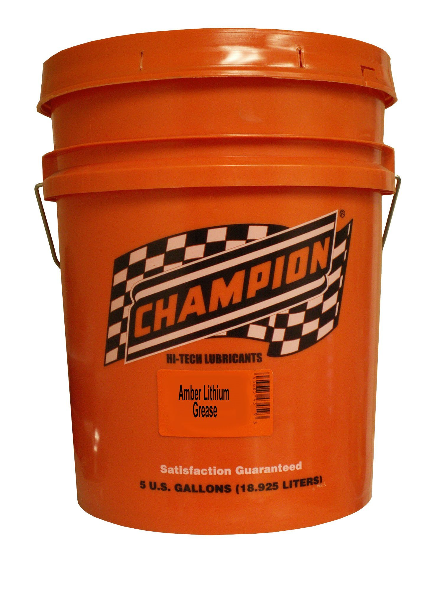 Champion Brands 4052D Amber Lithium Grease - 5 Gallon