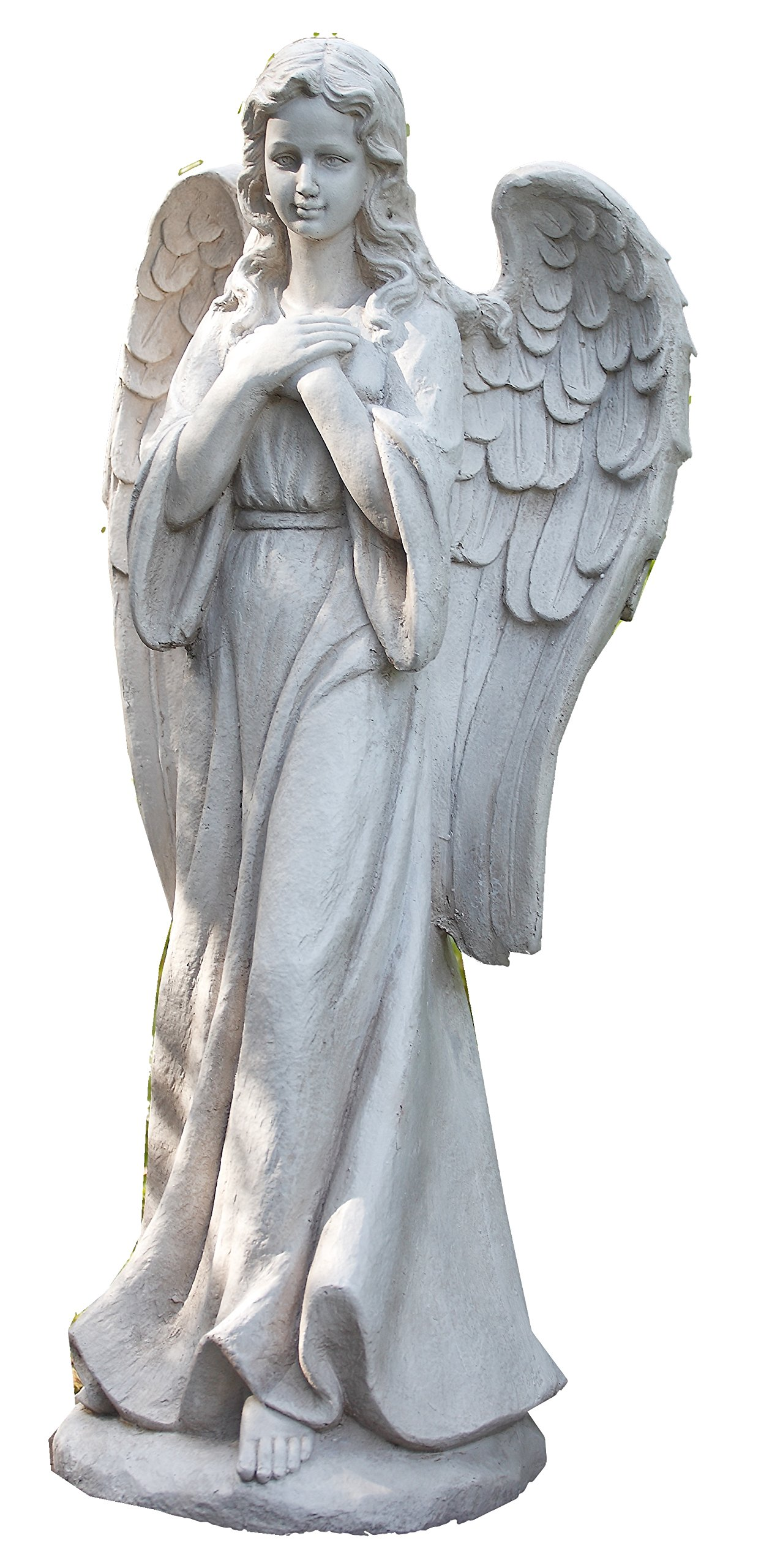 Napco 17968 Tall Praying Angel Garden Statue, 32.25''