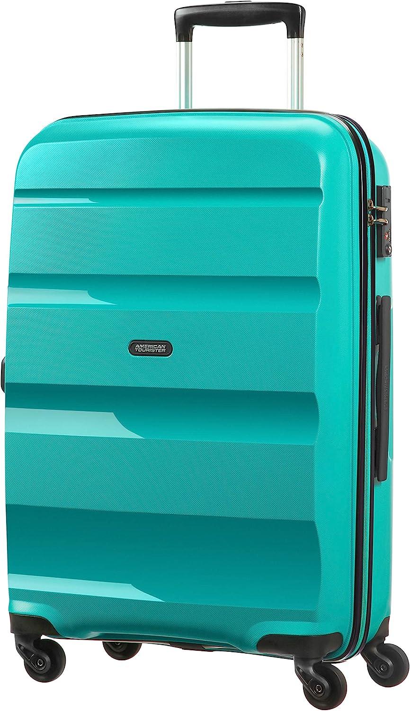 American Tourister - Bon Air - Spinner Maleta 66 cm, 58 L, Azul (Deep Turquoise)