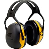 3M Peltor X2A X-Series Over-the-Head Earmuffs, Black and Yellow, Pack of 1