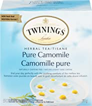 Twinings of London Pure Camomile Herbal Tea Bags, 50 Count