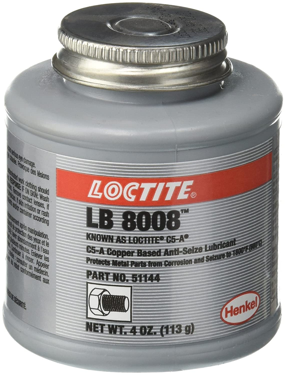 SEPTLS44251144 - Loctite C5-A Copper Based Anti-Seize Lubricant - 51144 LOC51144