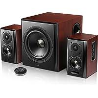 Edifier S350DB Bookshelf Speaker and Subwoofer 2.1 Speaker System Bluetooth v4.1 aptX Wireless Sound for Computer Rooms…