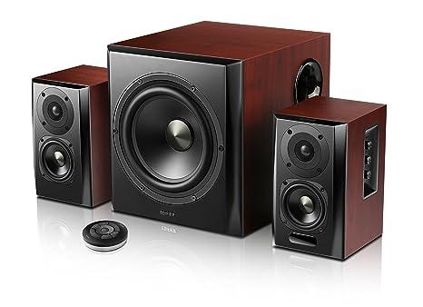 Edifier S350DB Home-Entertainment-System, 150W Holz/schwarz