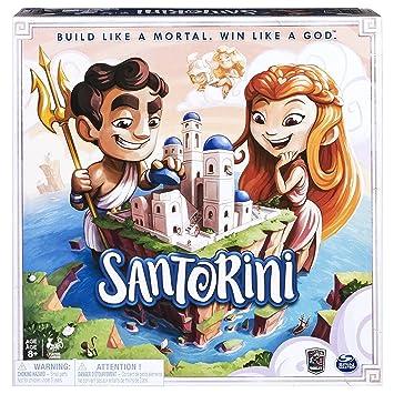 Amazon Com Santorini Game Board Game Toys Games