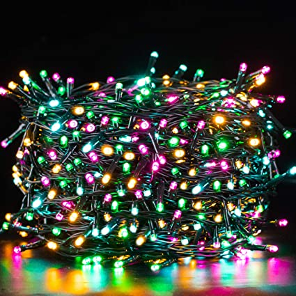500 LEDs Waterproof LED Fairy String Lights Plug Outdoor Christmas Lights Party