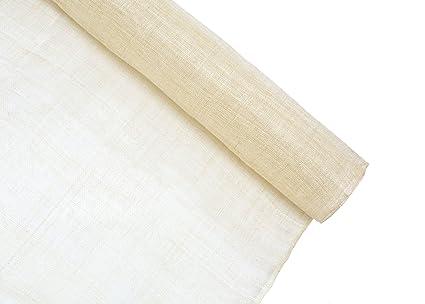 Amazon.com  Stiffened Sinamay Millinery Fabric - Beige - 1 Meter x 90cm 8c381b9430e