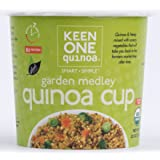 Keen One Quinoa Organic Quinoa Cup: Garden Medley Case of 6