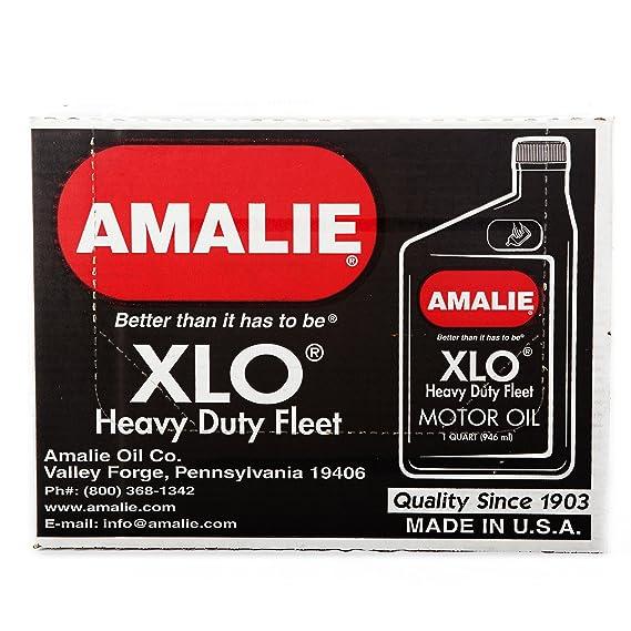 Amalie XLO Heavy Duty flota 30: Amazon.es: Coche y moto