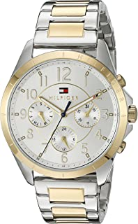 Tommy Hilfiger Womens Sport Quartz Two-Tone and Stainless Steel Casual Watch, Color