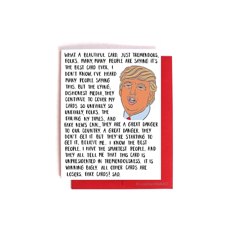 Donald Trump Bashing The Media Card