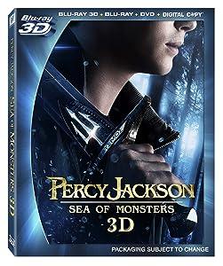 Percy Jackson: Sea of Monsters (Blu-ray 3D / Blu-ray / DVD + Digital Copy)