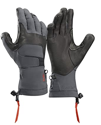 3c4efb1c15 Amazon.com: Arc'teryx Alpha FL Glove (Graphite/Cardinal, X-Small): Clothing