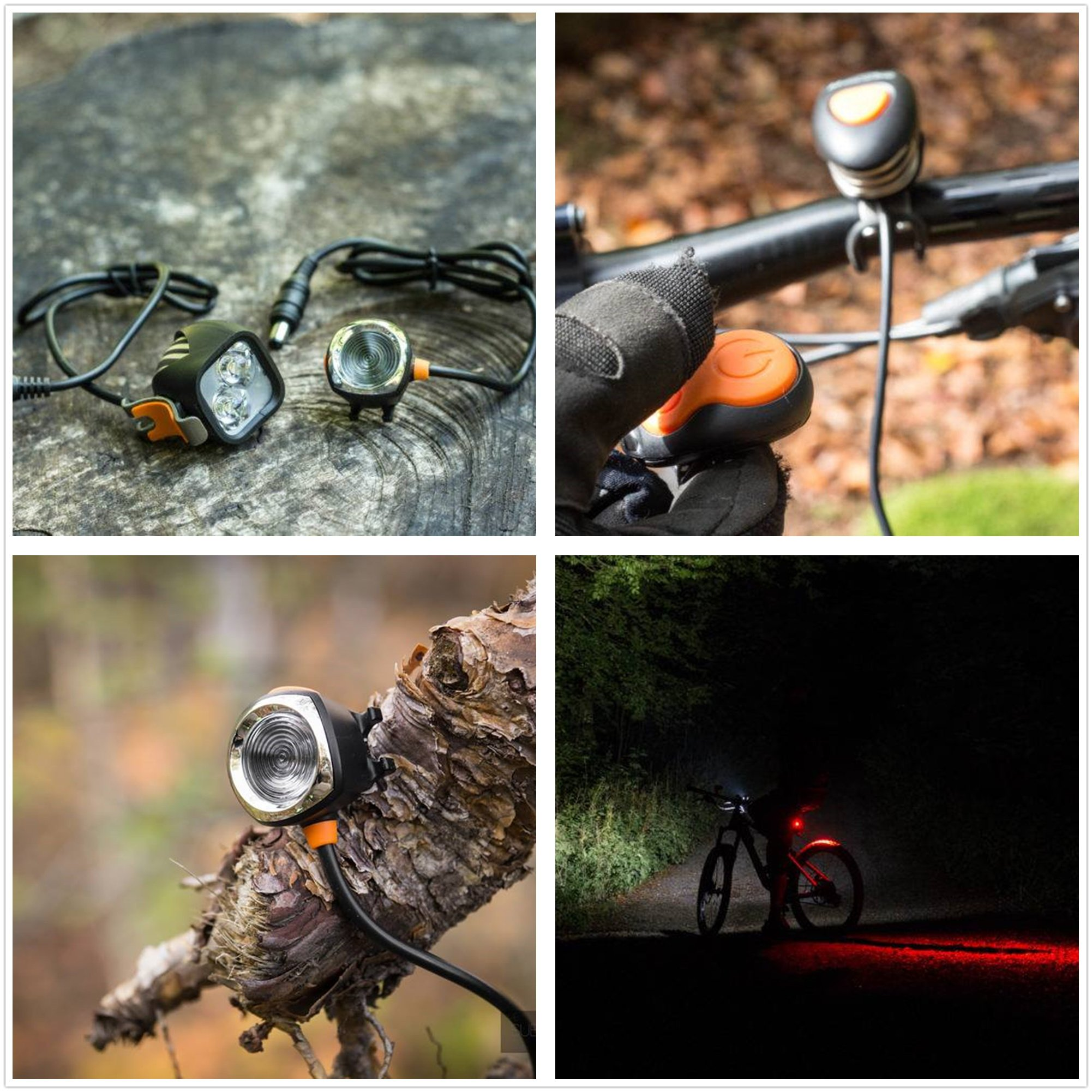 Magicshine MJ 902, 1600 Lumens Bike Light Set, Wireless Remote Bicycle Lights Front And Rear Combo, Rechargeable 2 CREE XM-L2 LED Bike Tail Light, Portable & Convenient Bright Bike Light by Magicshine (Image #9)