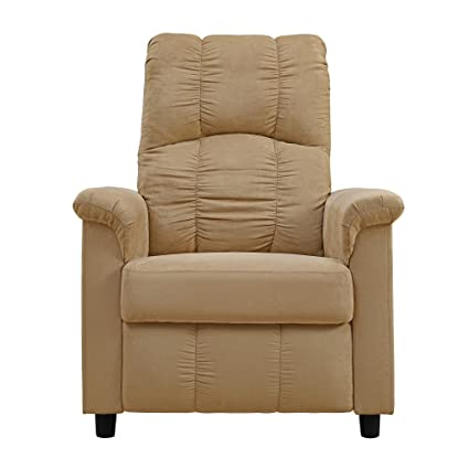 Amazon.com: Dorel Living Slim Recliner, Beige: Kitchen & Dining