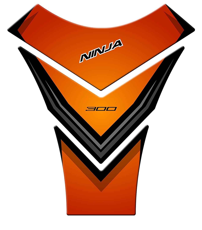 paraserbatoio Kawasaki Ninja 300 2013 - 2017 pre-085 Verde ...