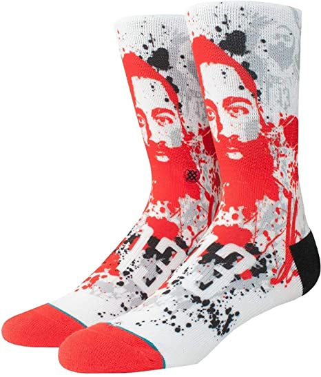 Stance Harden Splatter Socks - Multi Medium  Amazon.fr  Vêtements et  accessoires 12f01a448