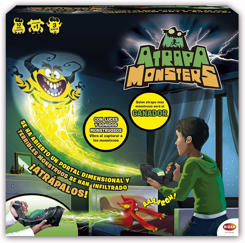 Juegos Bizak Atrapa Monsters (BIZAK 64011060) , color/modelo surtido: Amazon.es: Juguetes y juegos
