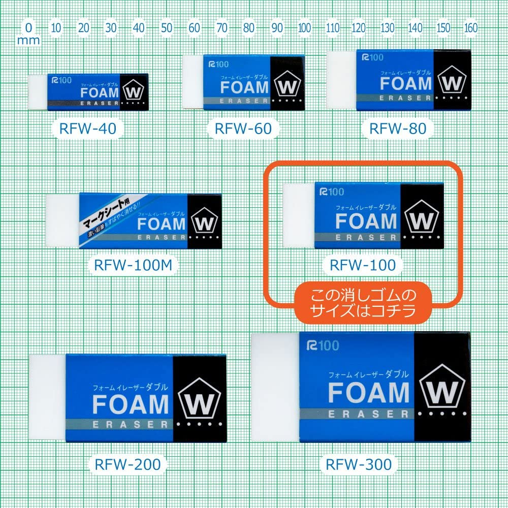 Sakura Color Rabbit form eraser double 100 RFW-100