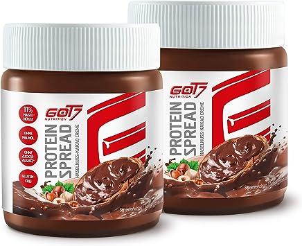 GOT7 - Pack ahorro - 2 x Protein Spread Avellana - Crema de ...
